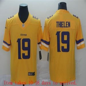 Vikings #19 Adam Thielen Jersey Inverted